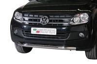 Защита переднего бампера Slash для VW Amarok из нержавеющей стали