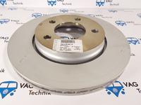 Тормозной диск задний VW T5 (оригинал)