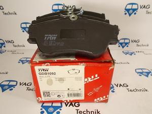 Тормозные колодки передние VW T4 TRW