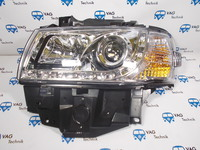 Фары передние с линзой хромированные VW T4 AC1 (комплект) 97 -