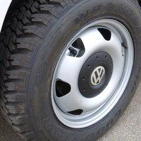 Оригинальный стальной диск R17 VW T5