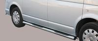 Боковые трубы со ступенями для VW T5 из нержавеющей стали
