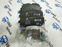 Тормозные колодки задние VW Amarok 3.0TDI V6